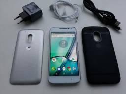 Moto G4 Play DTV XT1603 Branco com TV, 16GB, Tela de 5'', Dual Chip, Android 7.0, 4G