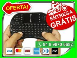 E.n.t.r.e.g. G.r.a.t.i.s Pague dividido Mini Teclado Mouse Touch SmartTv