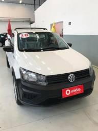 Vw - Volkswagen Saveiro 1.6 / Ent. + 60 x 799,00 / Ipva 2019 Total e Transferência Grátis - 2018