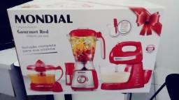 Conjunto especial gourmet red premium inox 320,00