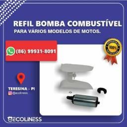 Refil Bomba Combustível Titan / Fan / Nxr Bross / Cb 300 / Biz
