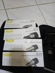 Microfones profissional para Bateria CAD