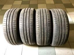 4 pneus 16 - 205/55/16 Michelin semi novos
