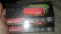 Dois pentes de 4gb RAM ddr4 2400