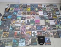 Dvds na capinha branca mais de 100 pouco usados mas todos em perfeito estado