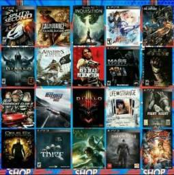 Jogos originais ps3 (digital)