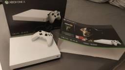 Xbox One X Branco Impecável