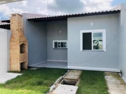 JP casa nova com 3 quartos,2 banheiros,garagem,coz americana,churrasqueira