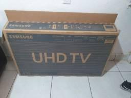 "Smart TV LED 43"" UHD 4K Samsung 43TU7000 Crystal UHD, HDR, Borda Infinita,"
