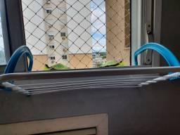 Varal para janelas banheiro