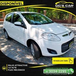 FIAT Palio Attractive 1.0 14/15 Flex Mecânico