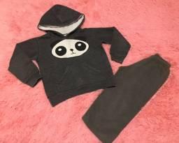 Lote de roupas de menino - tamanho 2 e 3 anos - 8 peças