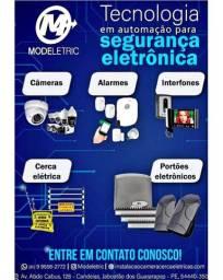 Câmeras de segurança (instalação venda)