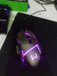 Mouse Gamer Warrior Multilaser com 3200dpi