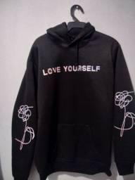 Casaco/moletom BTS love yourself