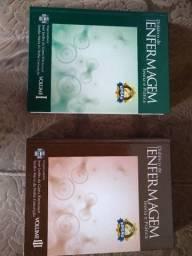 Coleção de livros para curso de enfermagem