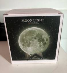 Vendo luminária e umidificador moon light
