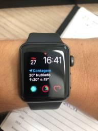 Apple Watch 3 38 completo com nota fiscal, 2 meses de uso