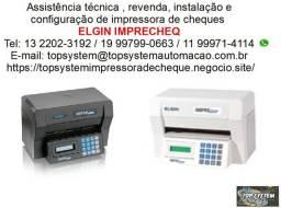 Assistência Elgin Imprecheq impressora de cheques em Jundiaí