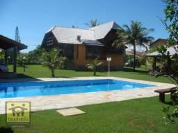 400 metros da praia, casa com 5 dormitórios à venda, 480 m² por R$ 1.999.000 - Delfim Verd