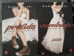 """Livros da série """"Perdida"""" da Carina Rissi"""