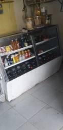 Balcão com freezer