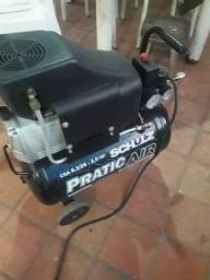 Compressor de ar shulz  25 ltos 127 volts novo