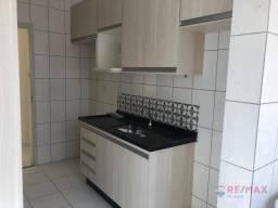Apartamento com 3 dormitórios para alugar, 65 m² por R$ 650,00/mês - Residencial Rio das F