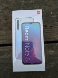 Arrasador!! Redmi note 8 da Xiaomi. novo lacrado com garantia e entrega