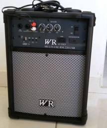 Caixa amplificada Multi-Uso Rm 220 USB Wr Audio