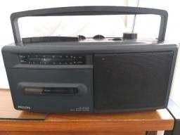 Rádio Portátil Philips transístor anos 80