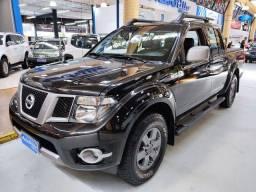 Nissan Frontier SV Attack 2.5 Diesel Preta 2015 (Automático + Couro)