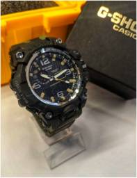 Relógio Masculino Militar G-shock Camuflado Top de linha