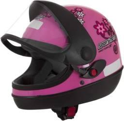 Capacete Pro Tork For Girls tamanho 56 / Rosa