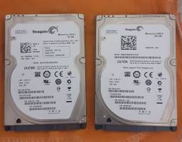 2 HDs notebook seagate