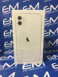 IPhone 11 64GB Branco -Novo - Aceito seu iPhone na troca-Niterói Loja