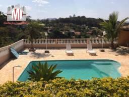 Linda chácara com 4 dormitórios, piscina, pomar, salão de jogos, à venda em Pinhalzinho/SP