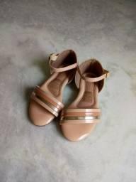 Sandália Infantil Bege