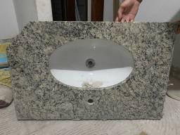Pia banheiro com Cuba