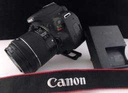 Canon sl2 praticamente nova com nota 3.292 clicks