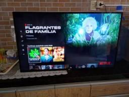 Vendo TV smart 43 AOC LED com todos os aplicativos Netflix YouTube controle original
