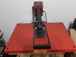 Prensa térmica A3 + Impressora sublimática A3 + Insumos = Estamparia completa