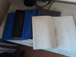 Pastas para anexar documentos