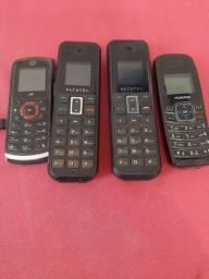 Vendo celulares antigos operadora claro marca alcatel,huawei  e nokia
