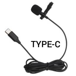 Microfone de Lapela com Conector Tipo C NK-N02