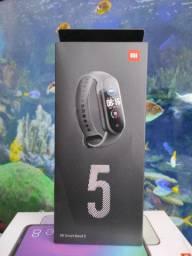 """""""LIQUIDAÇÃO""""#* Mi Band 5 da Xiaomi. Novo Lacrado com Garantia e Entrega hj"""