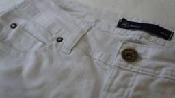 Calça jeans Hering branca