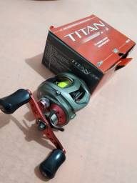 Carretilha Marine Sports - Big Game Titan FW  e  Vara  Storm-x Star River