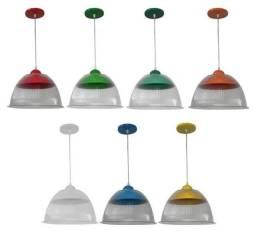 Luminária Prismática Com Pendente De 12 Polegadas x 12x R$ 7,99 x Entrega Grátis