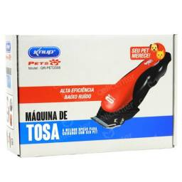 Máquina tosa kit pet